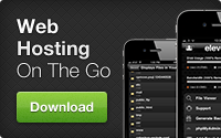 Web Hosting iPhone App